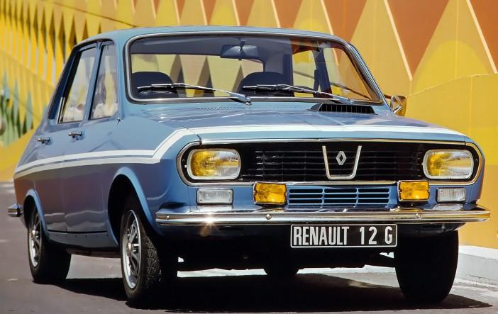 1970 Renault 12 Gordini front