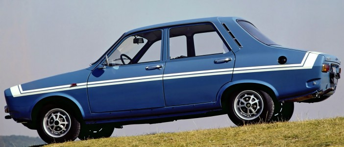 1970 Renault 12 Gordini side