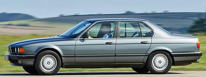 1986 BMW 735i E32 side