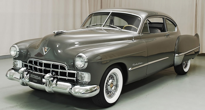 1948 Cadillac Series 61 Club Coupe front