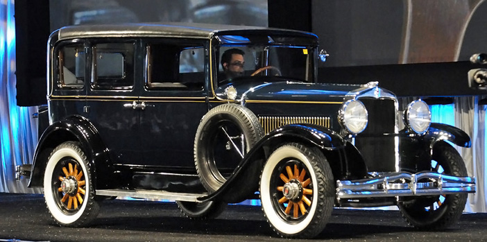1928 Hupmobile Century Six Sedan