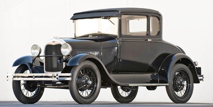 1927 Ford Model A Standard Coupe