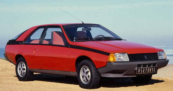 1980 Renault Fuego GTS front