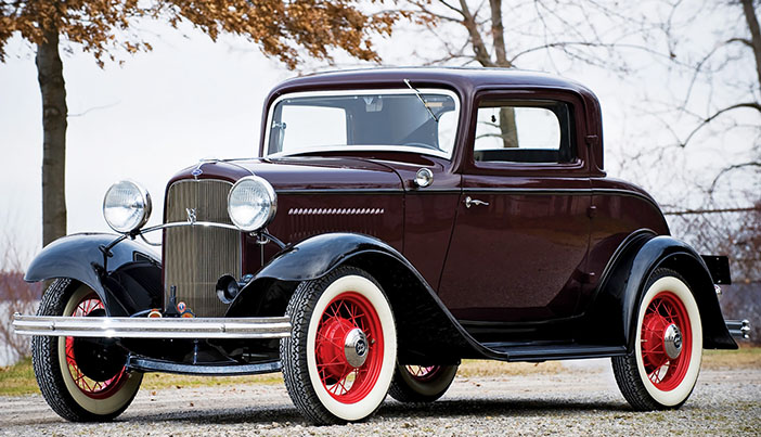 1932 Ford V8 Deluxe coupe