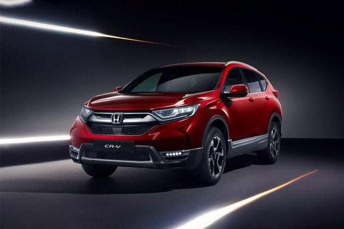 126967 Honda to unveil the all new CR V at the Geneva Motor Show