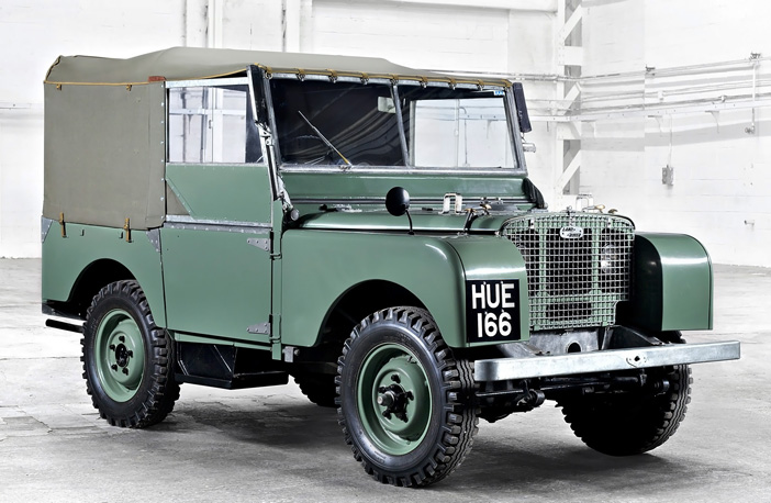 1948 Land Rover 80 Series I shed