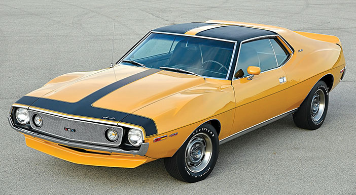 1971 AMC Javelin AMX 401 Go package front