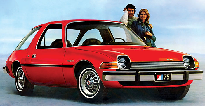 1975 AMC Pacer adv front