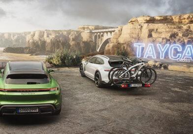 Taycan Cross Turismo – электрический универсал