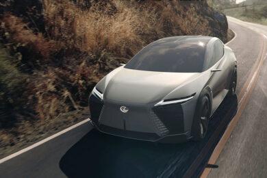 Lexus LF-Z Electrified – концепт, рисующий будущее