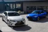 Обновленный Lexus ES: современный и удобный