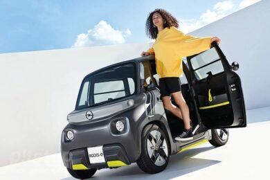 Rocks-e: электромобиль начального уровня